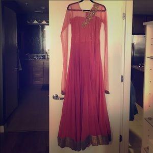 Indian pakistani gown Anarkali